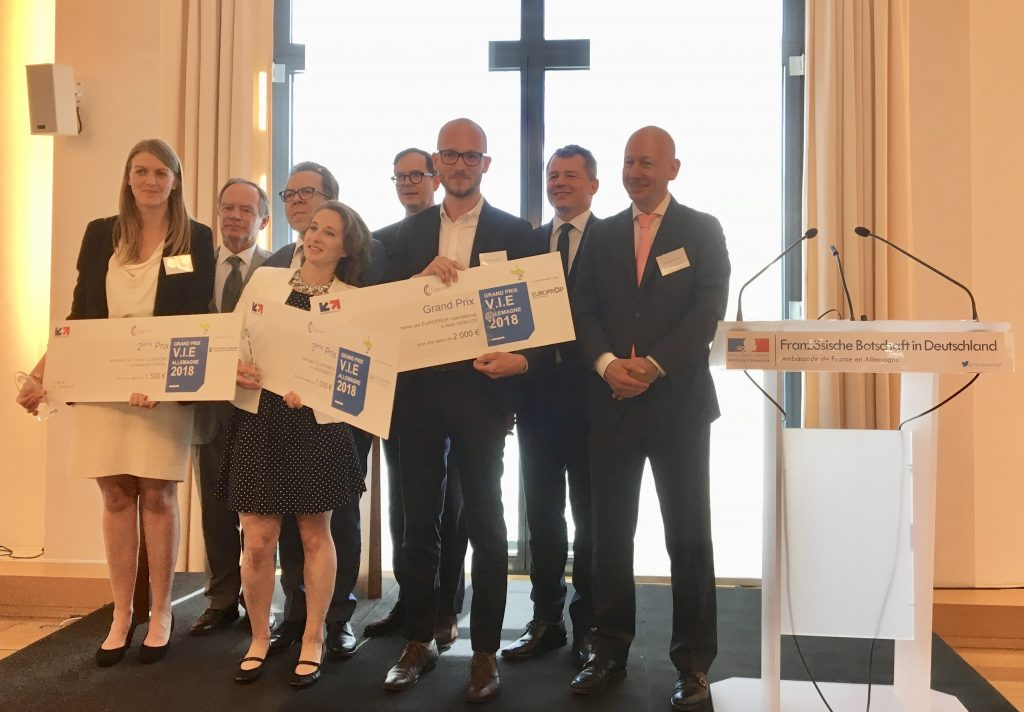 Europrop International awards the VIE 2018 ceremony.